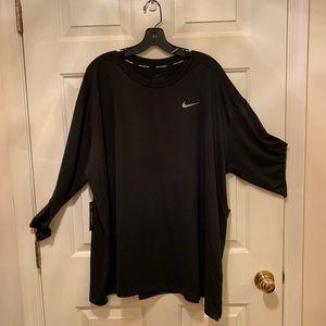 Nike Black Dri-Fit Long Sleeve